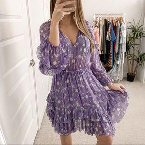 Ulla Johnson Alissa Dress Iris Purple